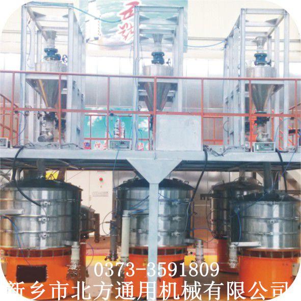 含料仓筛分机整套筛分流水生产线系统