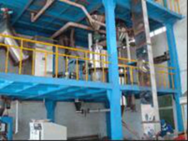 气旋筛---天津塑粉原料加工车间