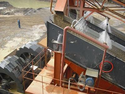 矿用直线雷竞技电竞官网--湖北孝感洗沙厂工作现场