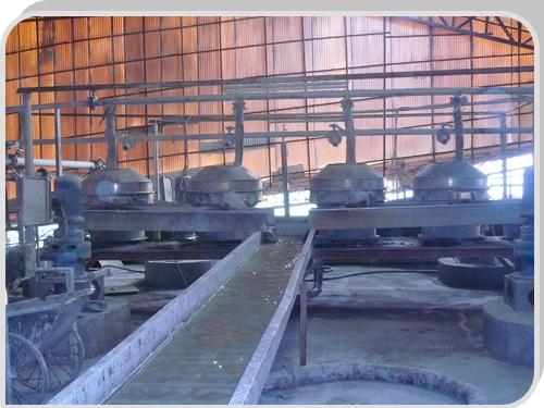 广东佛山陶瓷厂--泥浆筛分车间