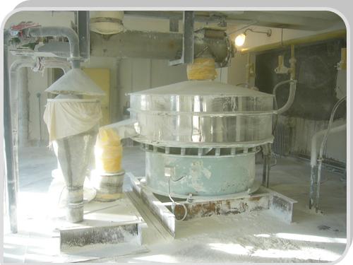 浙江建德石灰石生产车间--石灰石专用特制筛